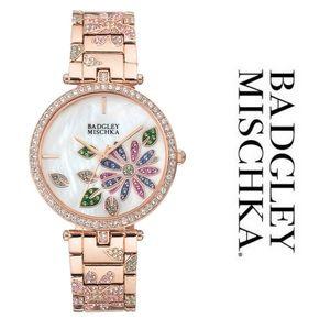 Badgley Mischka ROSE GOLD-TONE BRACELET WATCH